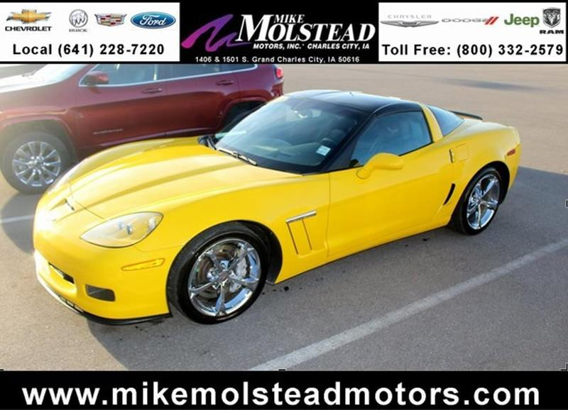 2011 chevrolet corvette for sale for Mike molstead motors charles city iowa