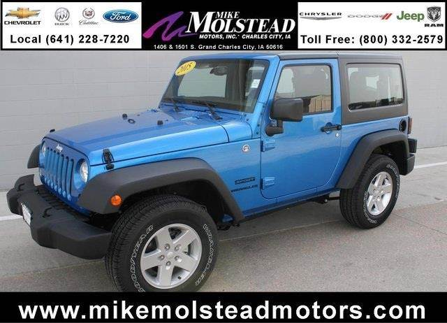 2015 Jeep Wrangler for sale in Charles City IA