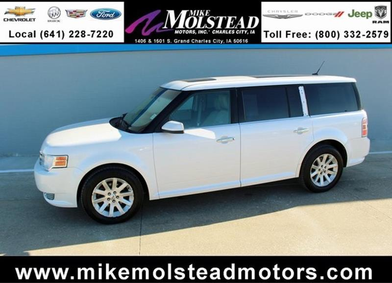 Used 2010 ford flex for sale in iowa for Mike molstead motors charles city iowa