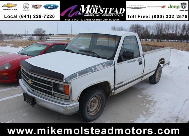 1988 chevrolet c k 1500 series for sale for Mike molstead motors charles city iowa