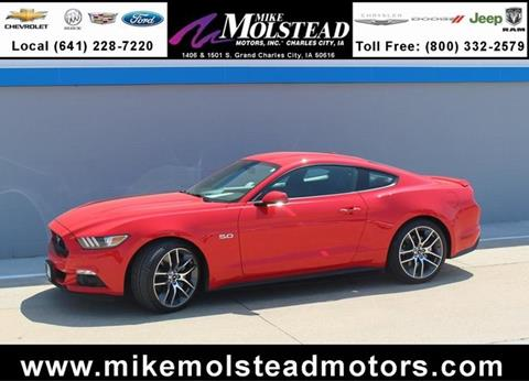Used ford mustang for sale in iowa for Mike molstead motors charles city iowa