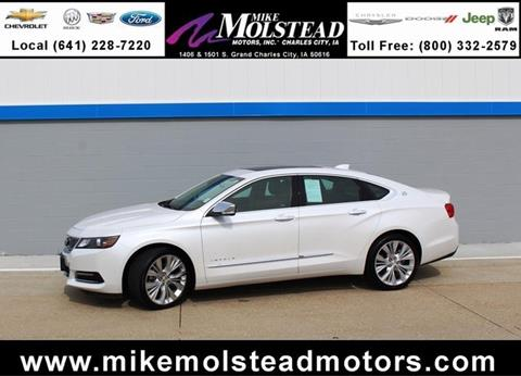 Used 2016 chevrolet impala for sale in iowa for Mike molstead motors charles city iowa