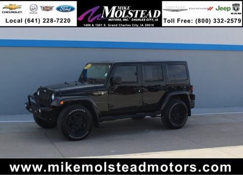 2012 jeep wrangler for sale in iowa for Mike molstead motors charles city iowa