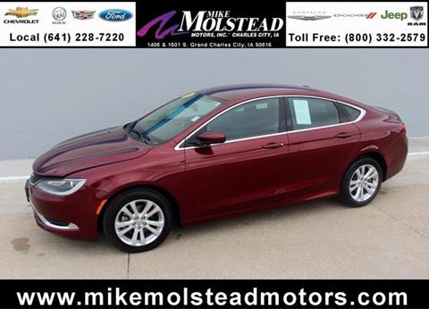 2016 Chrysler 200 for sale in Charles City, IA