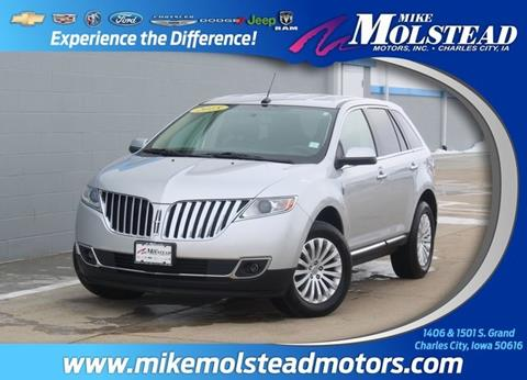2015 Lincoln MKX for sale in Charles City, IA