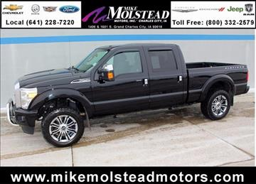 Used ford trucks for sale charles city ia for Mike molstead motors charles city iowa
