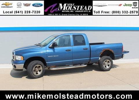 Used dodge trucks for sale in charles city ia for Mike molstead motors charles city iowa