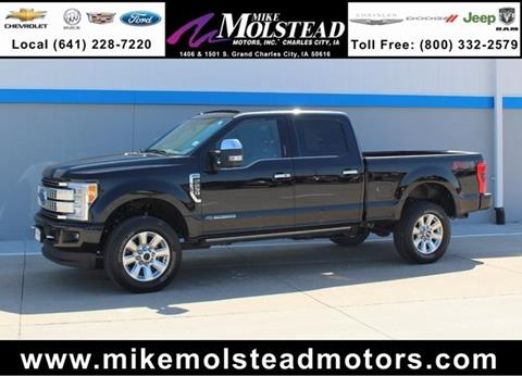 2017 ford f 250 for sale in iowa for Mike molstead motors charles city iowa