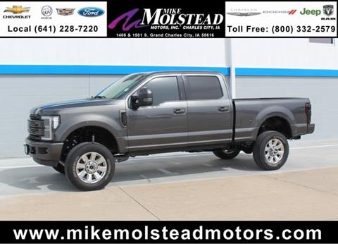 2017 ford f 350 super duty for sale in iowa for Mike molstead motors charles city iowa