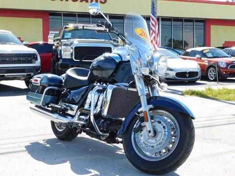 2009 Triumph Rockett III Touring for sale in Tarpon Springs, FL