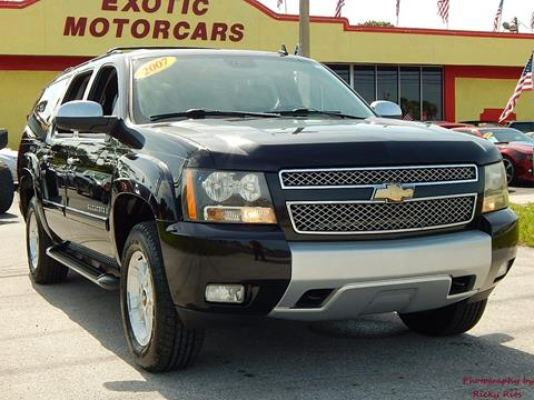 2007 Chevrolet Suburban for sale in Tarpon Springs, FL