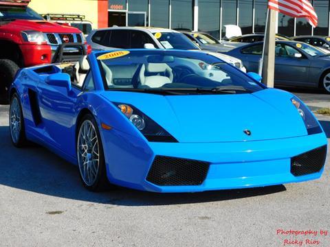 2008 Lamborghini Gallardo For Sale Carsforsale