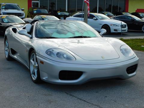 2003 Ferrari 360 Spider for sale in Tarpon Springs, FL