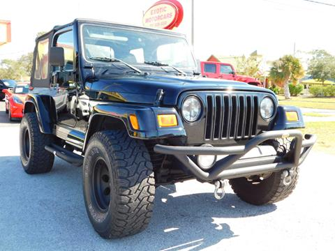jeep wrangler for sale in tarpon springs fl. Black Bedroom Furniture Sets. Home Design Ideas