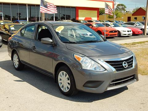 2017 Nissan Versa for sale in Tarpon Springs, FL