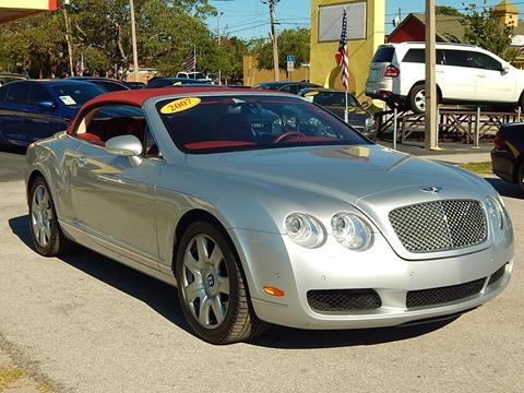 2007 Bentley Continental GTC for sale in Tarpon Springs, FL