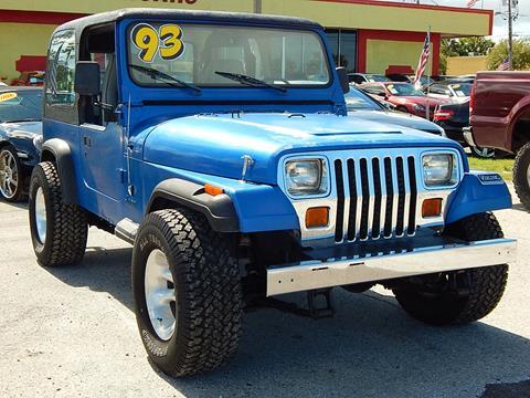 1993 Jeep Wrangler for sale in Tarpon Springs, FL