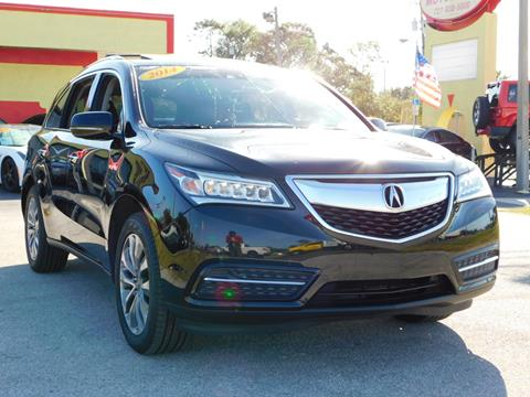 2014 Acura MDX for sale in Tarpon Springs, FL