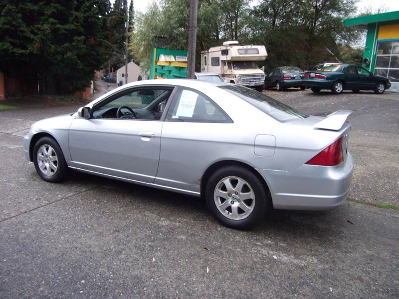 2003 Honda Civic Ex 2dr Coupe Wside Airbags In Seattle Wa