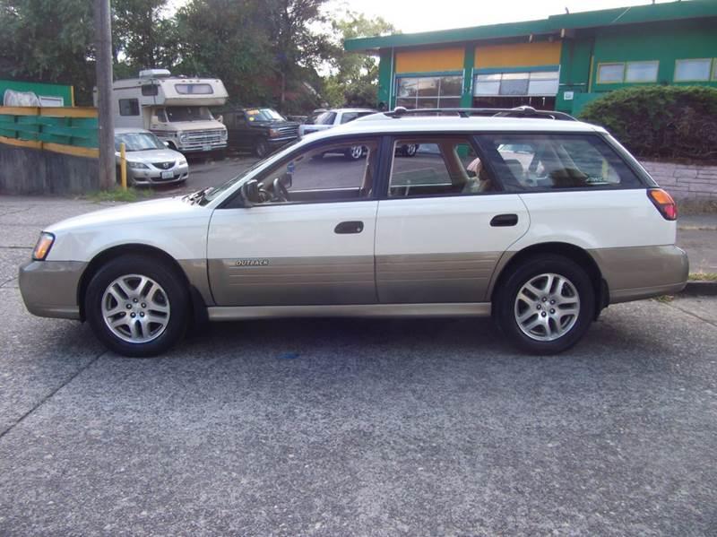 2003 Subaru Outback Awd 4dr Wagon In Seattle Wa University Motorsports