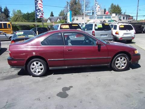 1995 honda accord coupe ex manual transmission