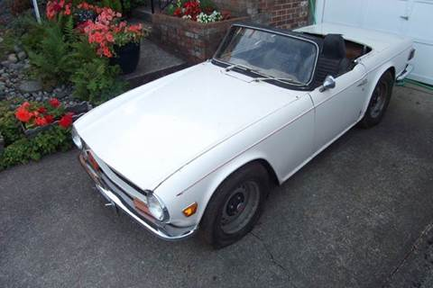1970 Triumph TR6 for sale in Seattle, WA