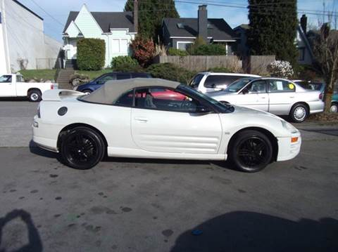 Used Mitsubishi Eclipse Spyder For Sale In Seattle Wa Carsforsale