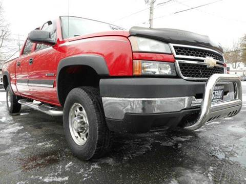 2006 Chevrolet Silverado 2500HD for sale in Uniontown, OH