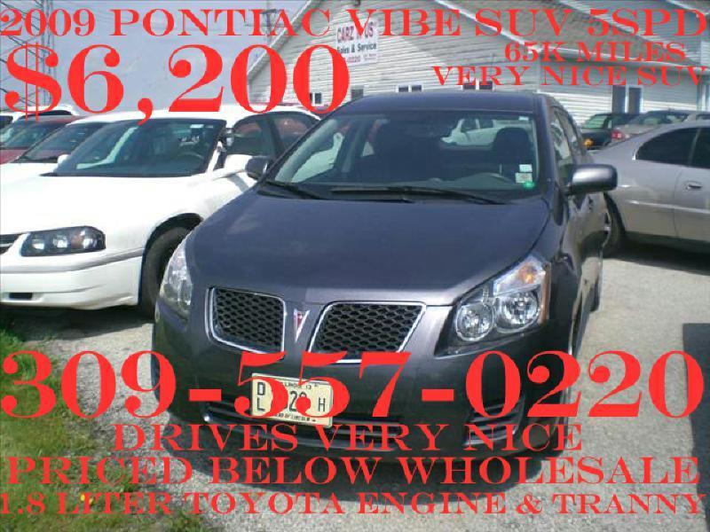 2009 Pontiac Vibe for sale in Heyworth IL