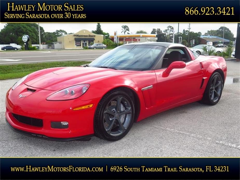 2010 Chevrolet Corvette Z16 Grand Sport 2dr Coupe W 1lt In Sarasota Fl Hawley Motor Sales