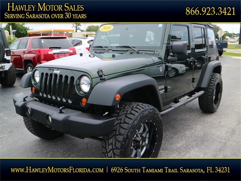 Jeep Used Cars Pickup Trucks For Sale Sarasota Hawley Motor Sales
