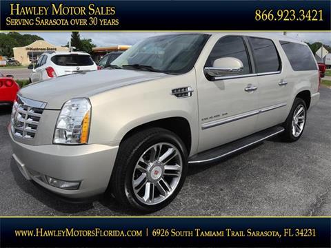 2011 Cadillac Escalade ESV for sale in Sarasota, FL