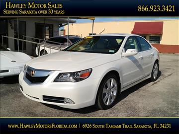 2010 Acura Rl For Sale South Carolina