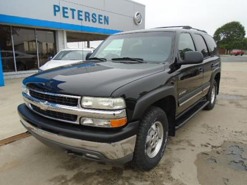 2002 Chevrolet Tahoe for sale in Fairbury, IL