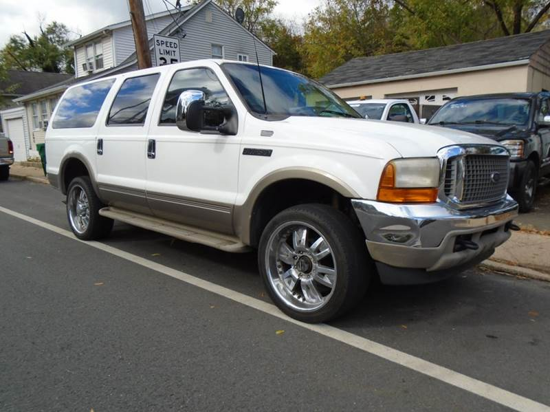 2000 Ford Excursion 4dr Limited 4wd Suv In New Egypt Nj
