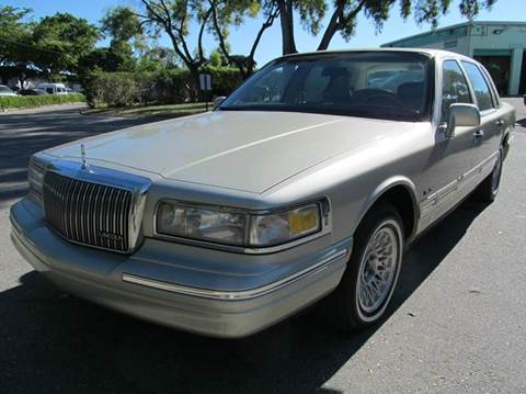 1997 Lincoln Town Car for sale in Margate, FL