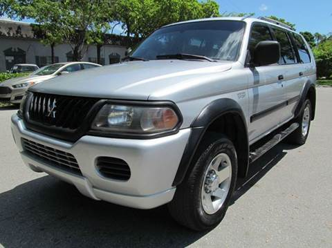 2002 Mitsubishi Montero Sport for sale in Margate, FL