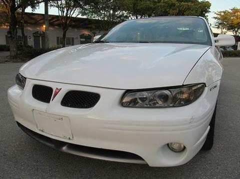 1999 Pontiac Grand Prix for sale in Margate, FL