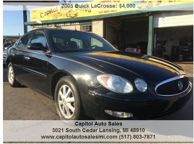 2005 buick lacrosse cx 4dr sedan in lansing mi capitol auto sales. Black Bedroom Furniture Sets. Home Design Ideas