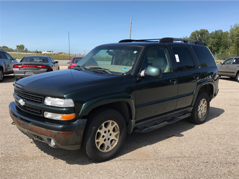 2001 chevrolet tahoe for sale in marshalltown ia. Black Bedroom Furniture Sets. Home Design Ideas