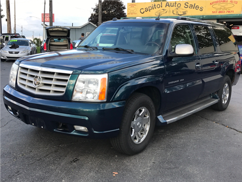 2005 Cadillac Escalade ESV for sale in Lansing, MI