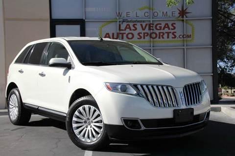 2012 Lincoln MKX for sale in Las Vegas, NV