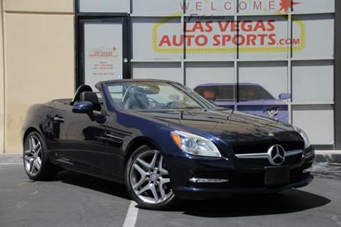 2014 Mercedes-Benz SLK for sale in Las Vegas, NV