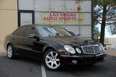 Mercedes benz e class for sale nevada for Mercedes benz for sale las vegas