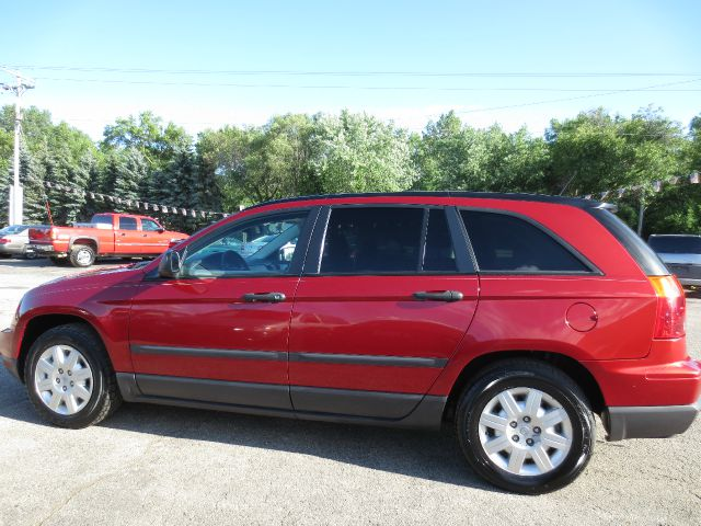 2007 CHRYSLER PACIFICA BASE 4DR WAGON red 2007 chrysler pacifica provides a sedan like feel with