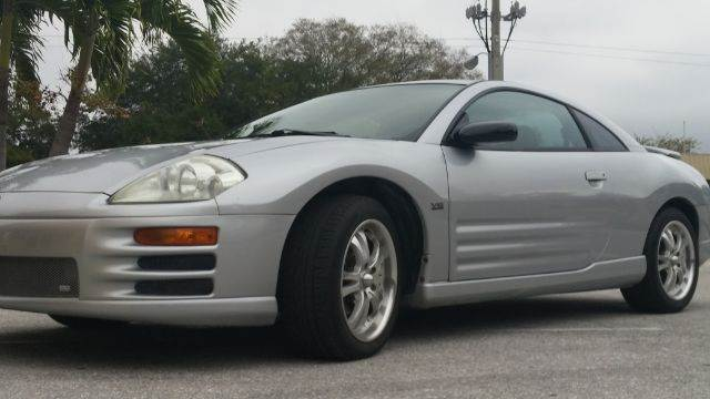 2000 MITSUBISHI ECLIPSE GT 2DR HATCHBACK silver 4-speed automatic transmission anti-theft system