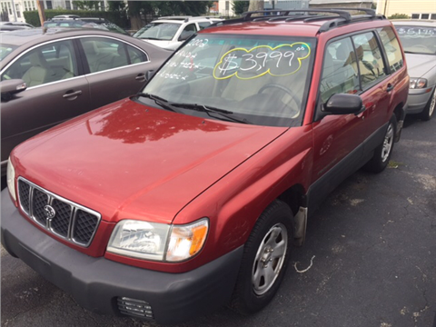 2002 Subaru Forester for sale in Cranston, RI
