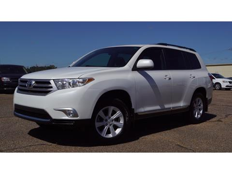 2012 Toyota Highlander for sale in Meridian, MS