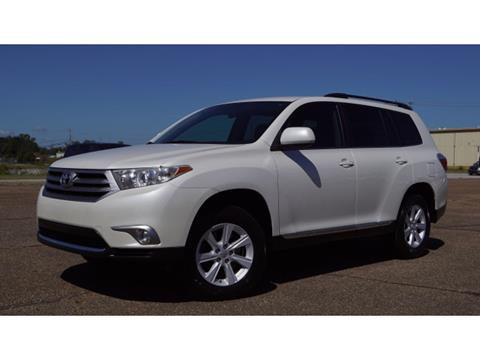 2013 Toyota Highlander for sale in Meridian, MS