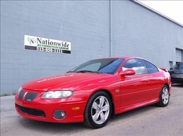 2004 Pontiac GTO for sale in Fairfield, OH